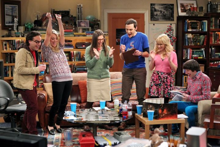 Jugando a D&D en Big Bang Theory