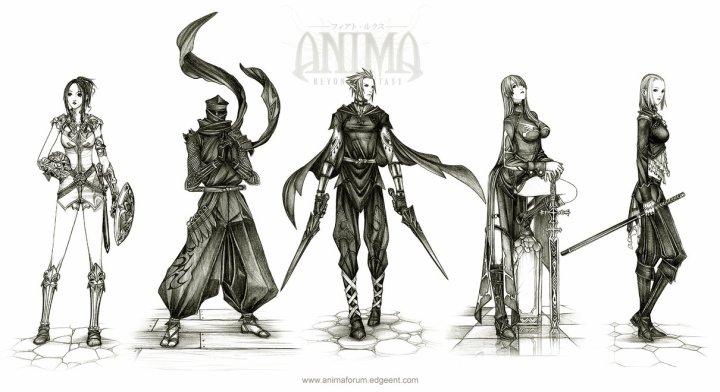Anima Beyond Fantasy character