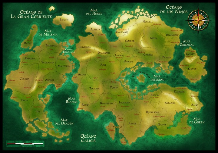 Anima Beyond Fantasy map