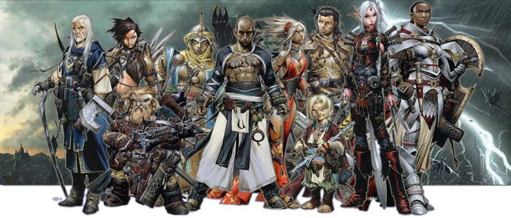 Personajes de Pathfinder
